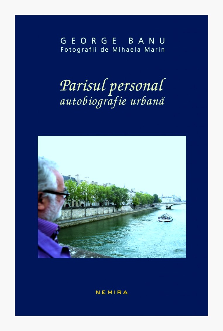 Coperta volumului Parisul-personal