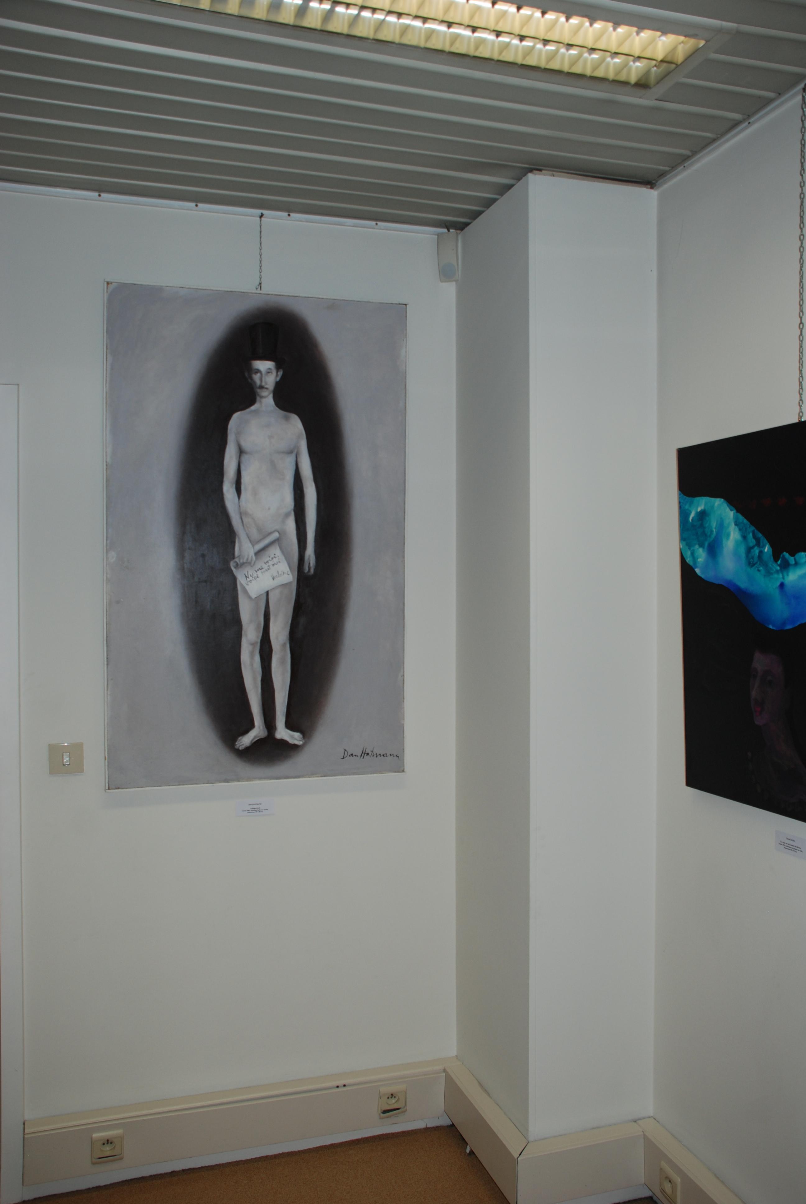 DSC_2377 - 10 mars 2014 - Expo Soleil de l'Est Francophonie Bruxelles - Oeuvres de Dan Hatmanu et de Dorin Baba
