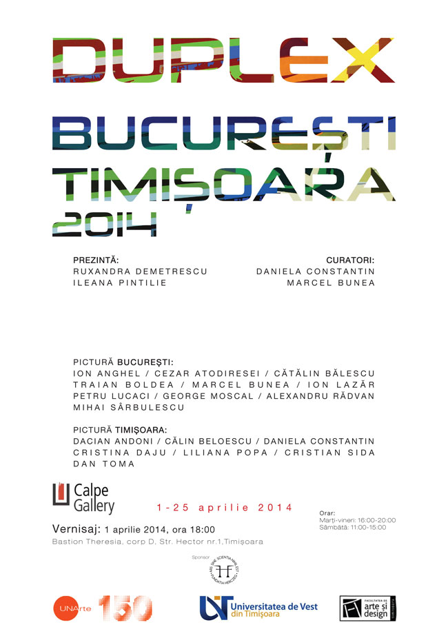 DUPLEX-BUCURESTI-TIMISOARA-2014