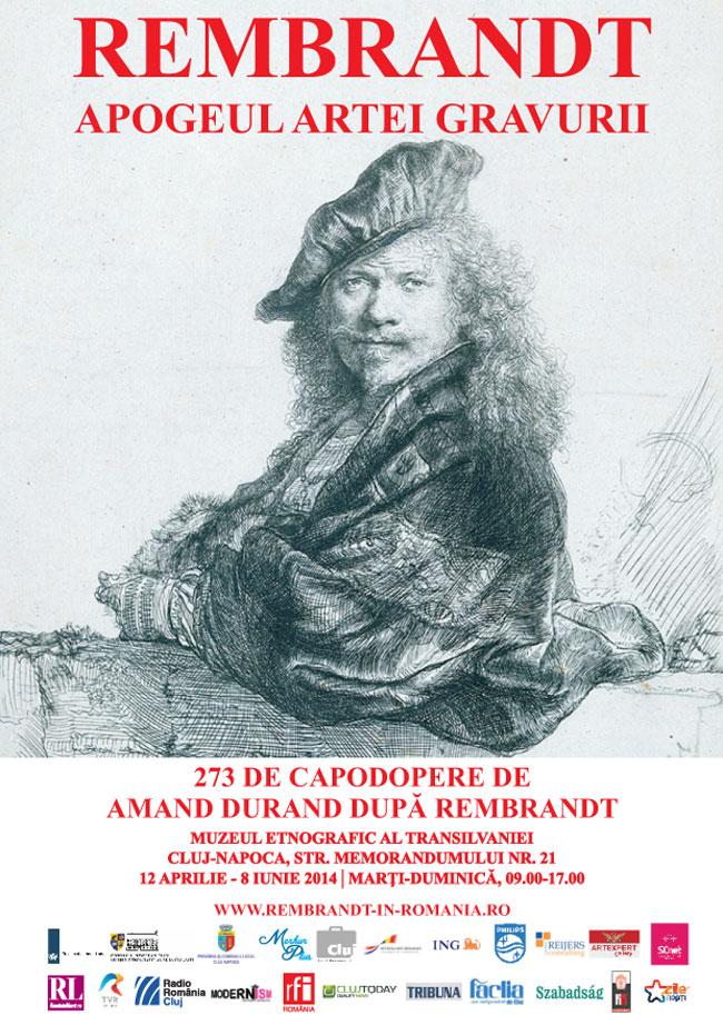Rembrandt. Apogeul artei gravurii