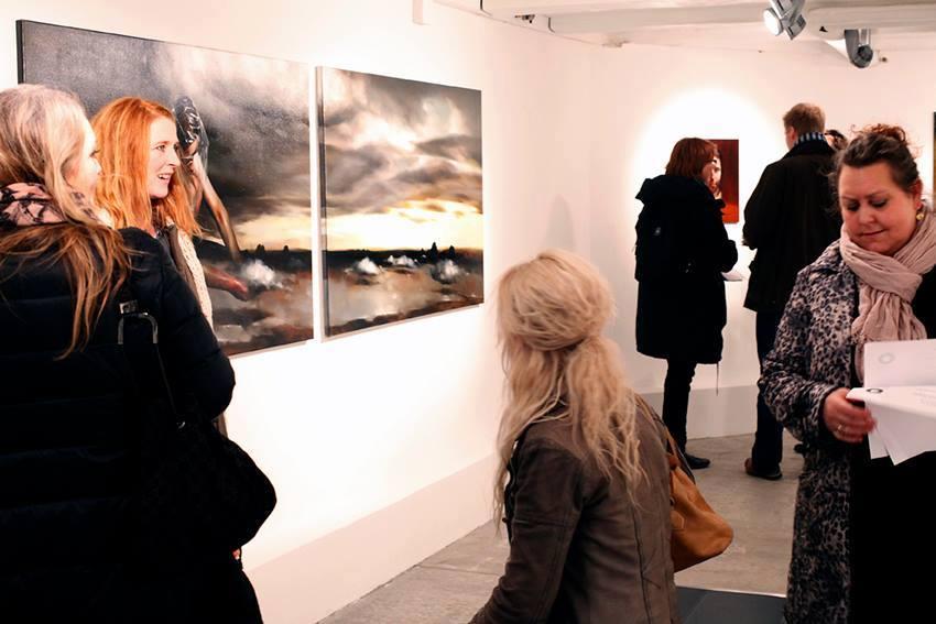 Solo show Radu Belcin, Unfulfilled hopes @ Oxholm Gallery, Copenhagen (1)