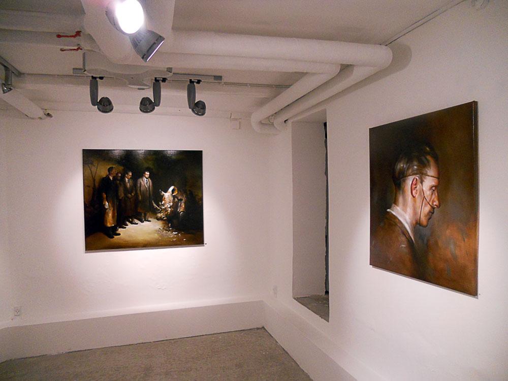 Solo show Radu Belcin, Unfulfilled hopes @ Oxholm Gallery, Copenhagen (2)