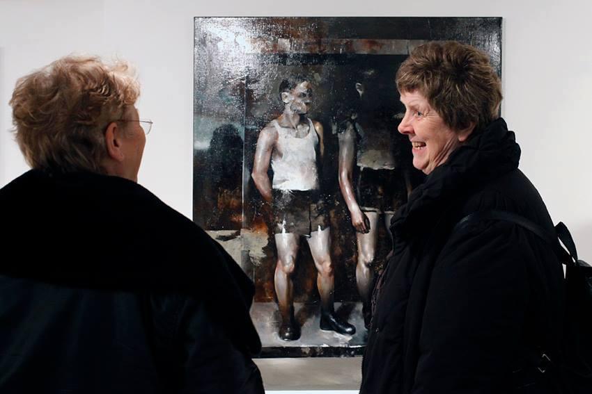 Solo show Radu Belcin, Unfulfilled hopes @ Oxholm Gallery, Copenhagen (3)