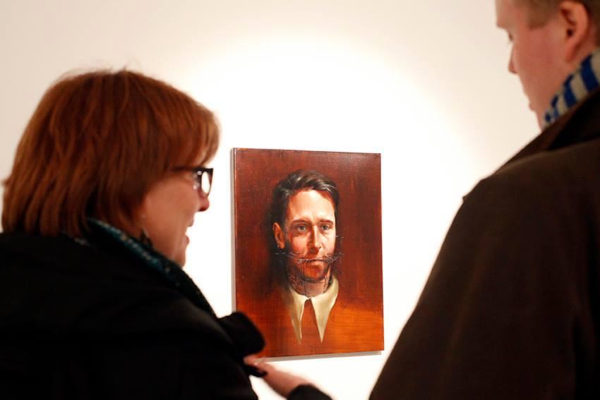 Solo show Radu Belcin, Unfulfilled hopes @ Oxholm Gallery, Copenhagen (4)