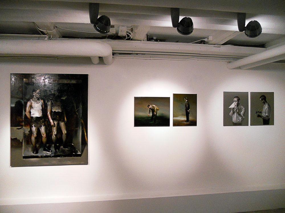 Solo show Radu Belcin, Unfulfilled hopes @ Oxholm Gallery, Copenhagen (5)