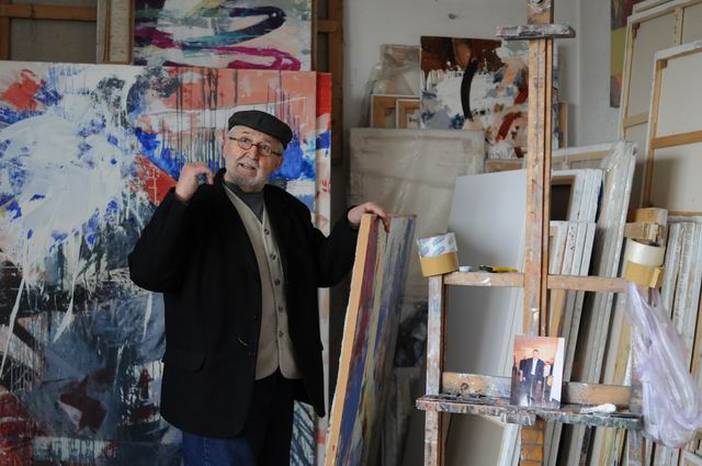 corneliu vasilescu in atelier foto lucian muntean 02