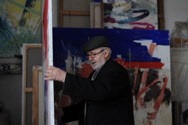 corneliu vasilescu in atelier foto lucian muntean 07