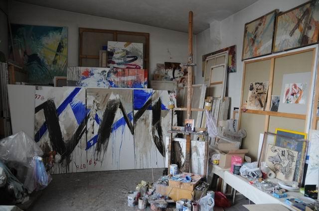 corneliu vasilescu in atelier foto lucian muntean 09