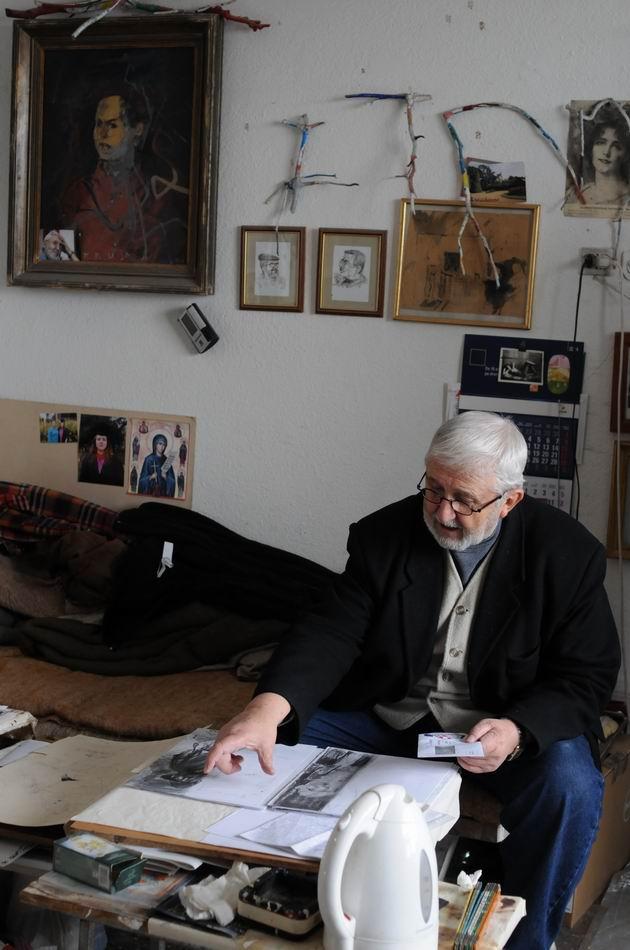 corneliu vasilescu in atelier foto lucian muntean 14