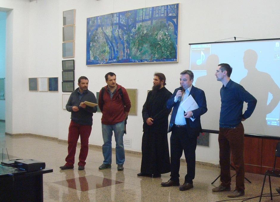 2 Andrei Rosetti, Sorin Neamtu,Ieromonah Pantelimon Susnea,Gabriel Niculescu,Sorin Scurtulescu.