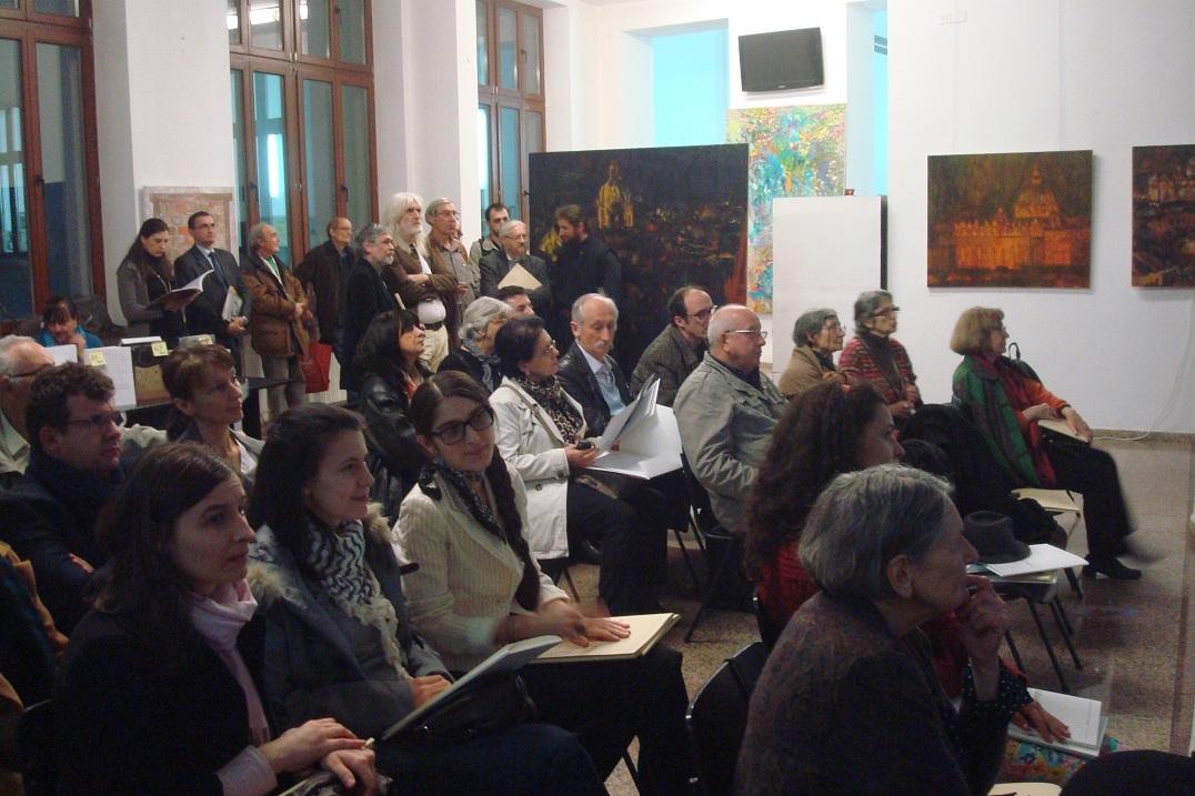 7Vernisaj ADNOTARI 3 PICTURA ASE-Bucuresti 27III2014.