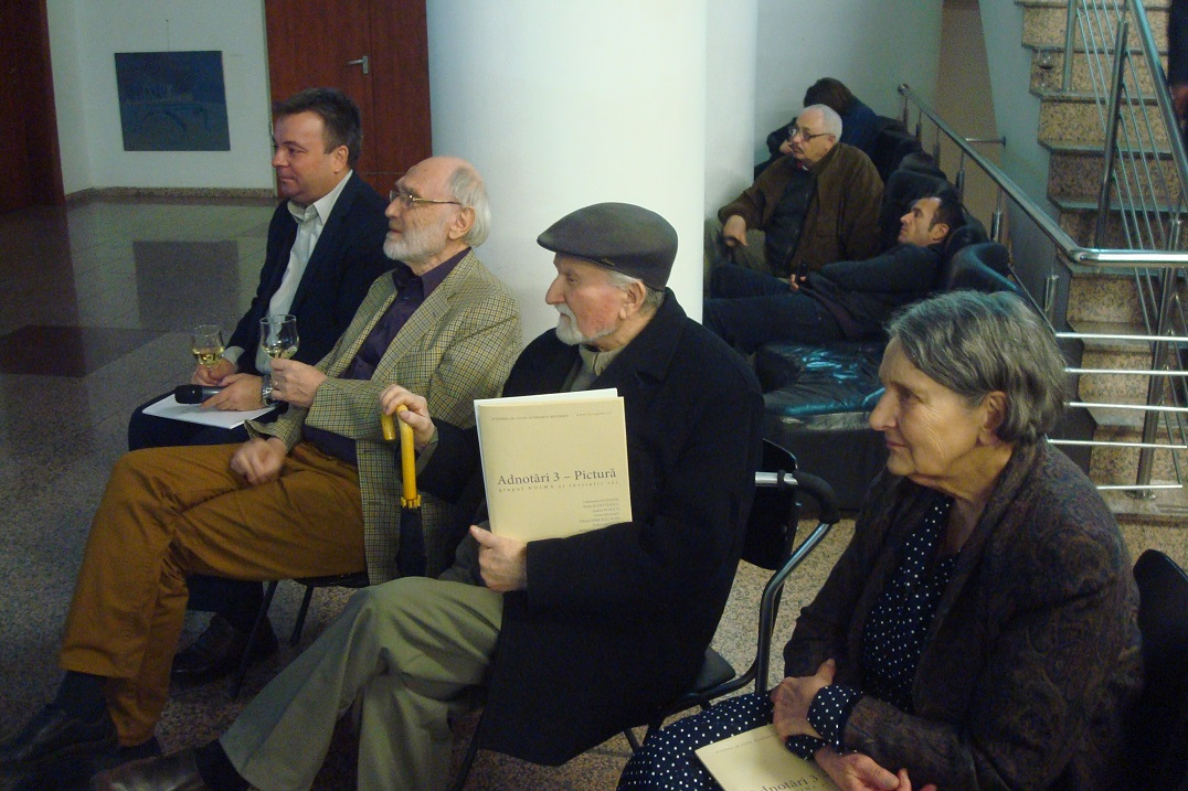9 Gabriel Niculescu, Constantin Flondor,Viorel M¦ârginean, Silvia Radu.