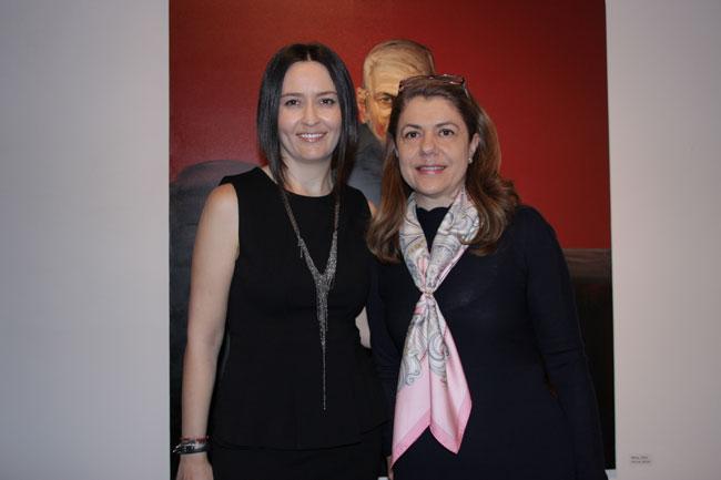 Amalia Nastase si Mihaela Geoana
