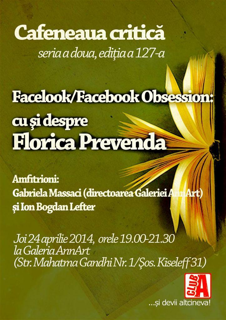 Cafeneaua critica 127 Florica Prevenda AFIS