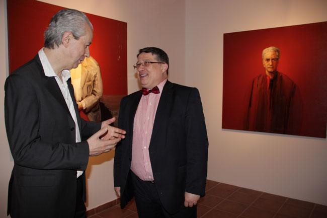 Constantin Pacea si Virgil Stefan Nitulescu