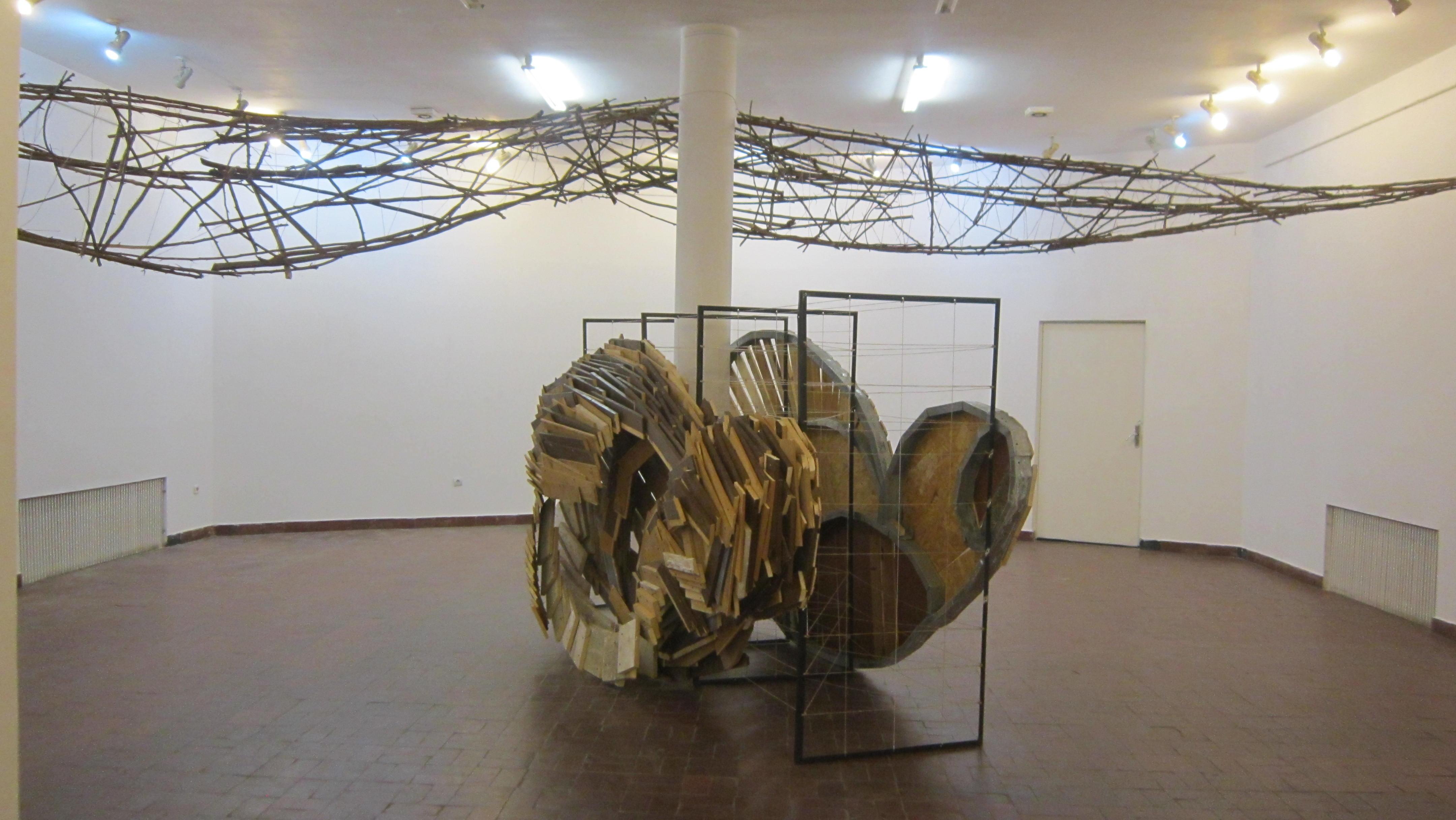 Gabriela Rusu si Marius Burhan, Corespondente formale @ Centrul Artelor Vizuale, Bucuresti, galerie de imagin