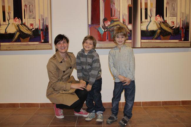 Ioana Flora si fiii