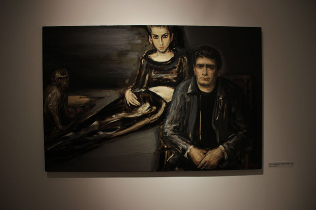 Tablou Dan, Anghelina si Maimuta (1998-2001) ulei pe panza