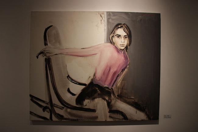 Tablou Zoe (2005) ulei pe panza