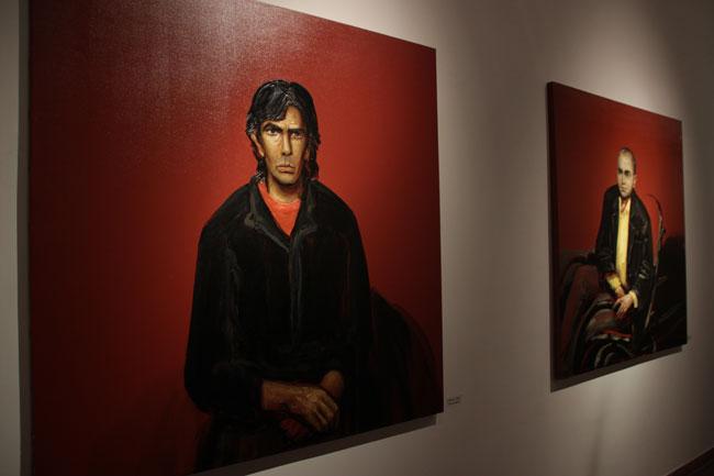 Tablouri Michael (2001) si Andrei (1998) ulei pe panza
