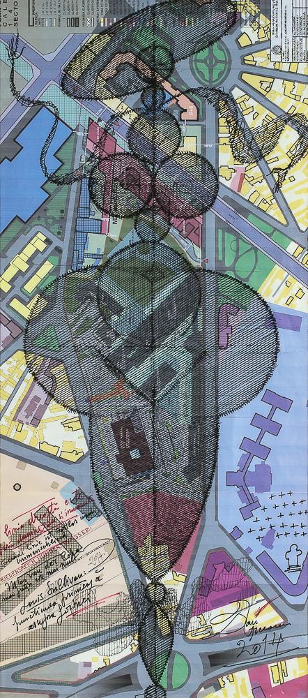 Erceanu Dan Plan urbanistic zonal PUZ tehnica mixta 85x40