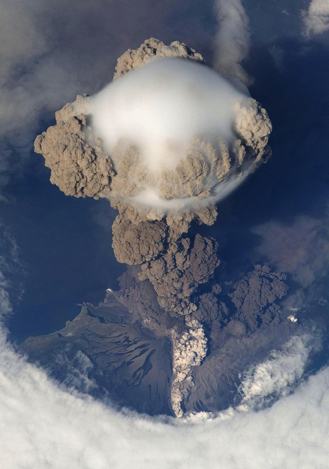 Sarychev Volcano