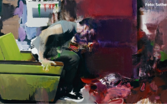 Adrian Ghenie  The Fake Rothko 93