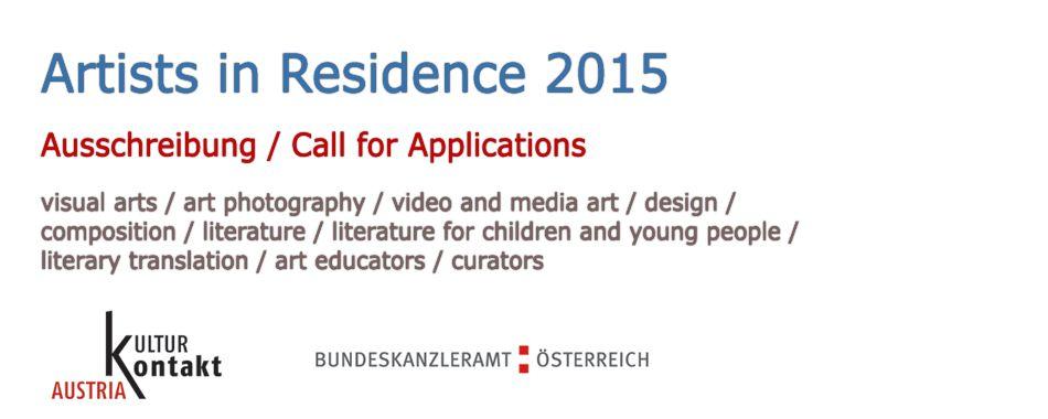 Artist-in-Residence 2015