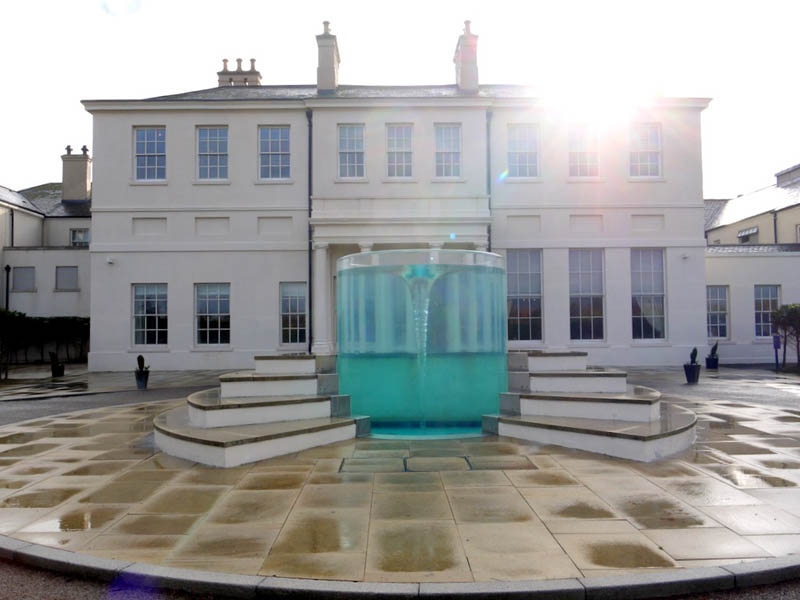 Awesome Vortex Water Sculpture by William Pye in UK (2)