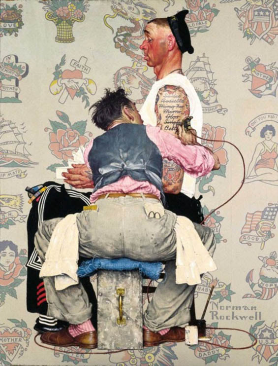Norman-Rockwell-Painting-Photography-5