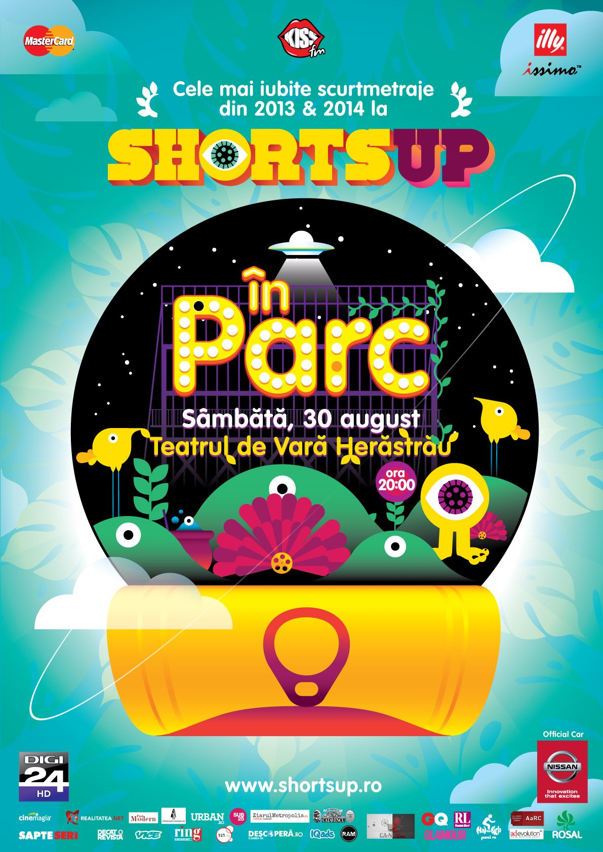 ShortsUP In Parc Afis