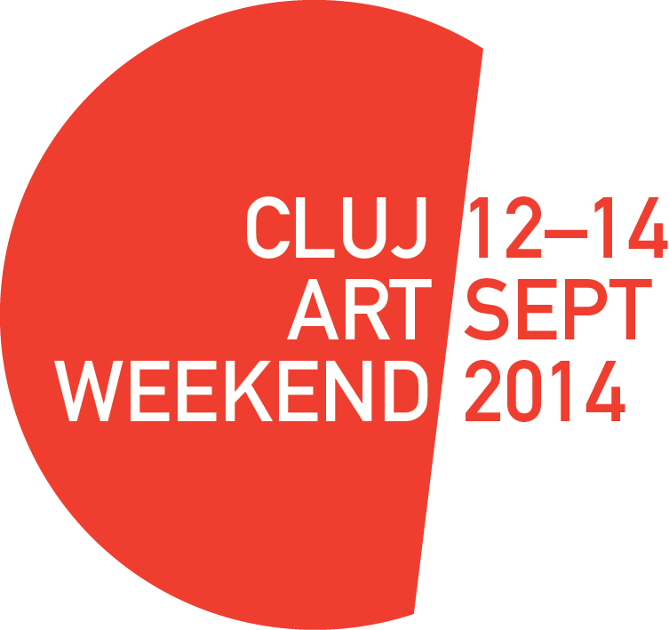 Cluj Art Weekend logo 2014