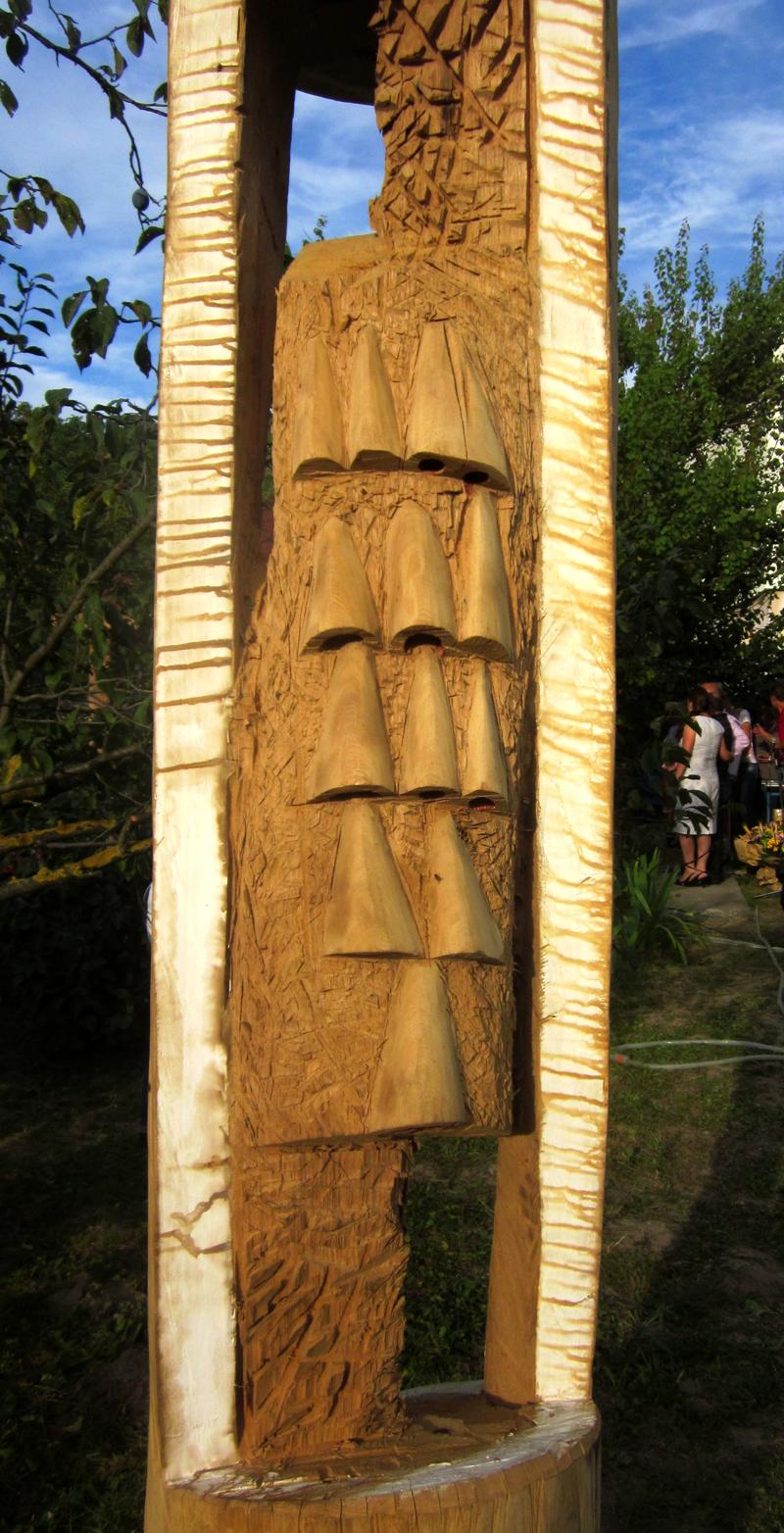 IOAN POP -VERETA-FANTANA,lemn350x50cm b