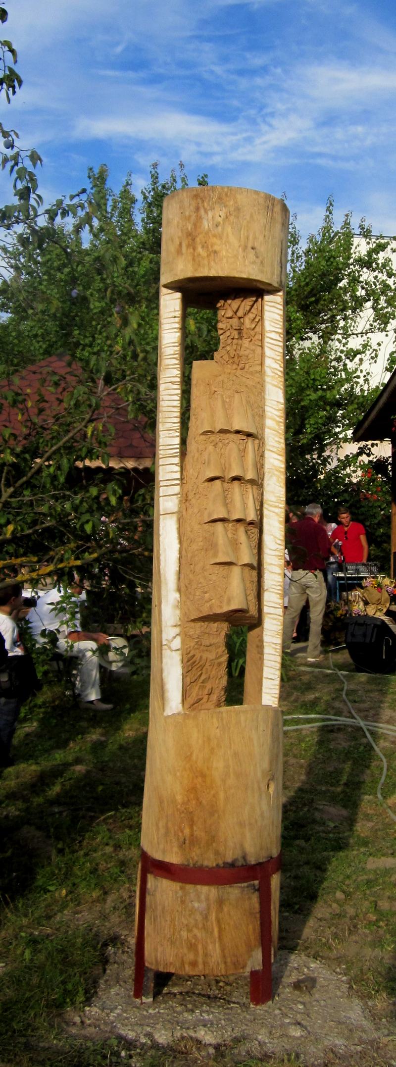 IOAN POP -VERETA-FANTANA,lemn350x50cm
