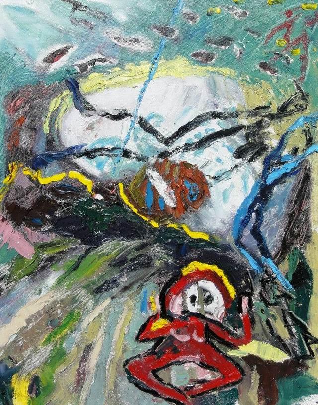 Resize of Maia Oprea-Ia-la ia-la underwater painting 1