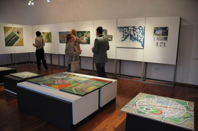 geografii subiective - harti imaginare - pictura - lucian muntean 08