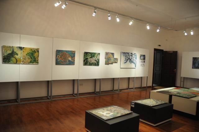geografii subiective - harti imaginare - pictura - lucian muntean 13