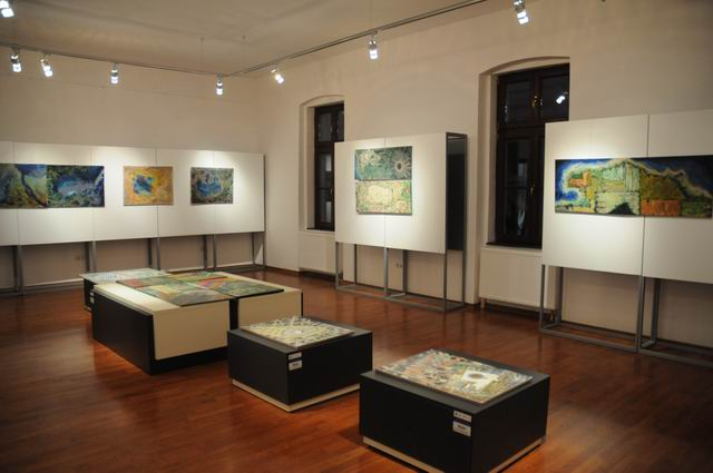 geografii subiective - harti imaginare - pictura - lucian muntean 14