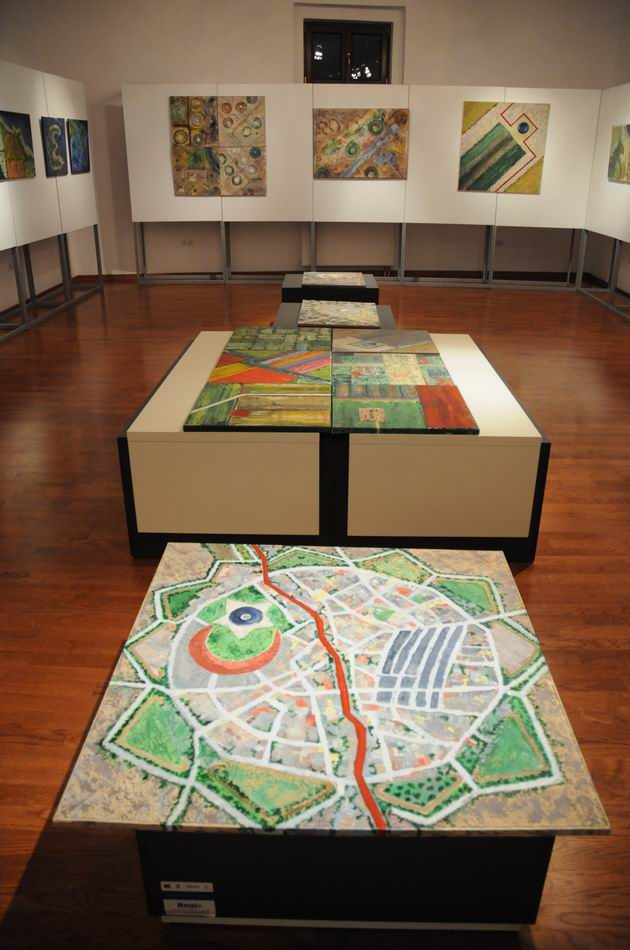 geografii subiective - harti imaginare - pictura - lucian muntean 15