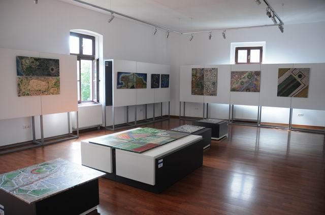 geografii subiective - harti imaginare - pictura - lucian muntean 17