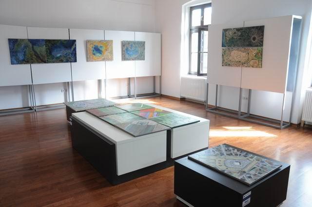 geografii subiective - harti imaginare - pictura - lucian muntean 28