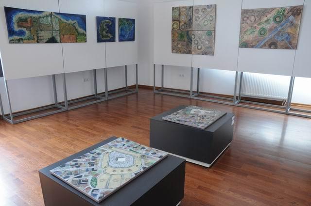geografii subiective - harti imaginare - pictura - lucian muntean 29