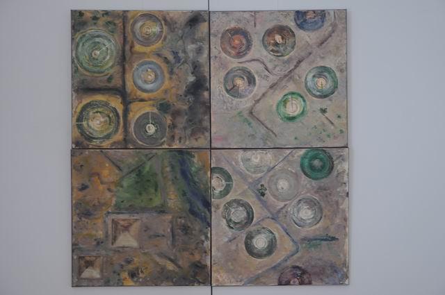 geografii subiective - harti imaginare - pictura - lucian muntean 32