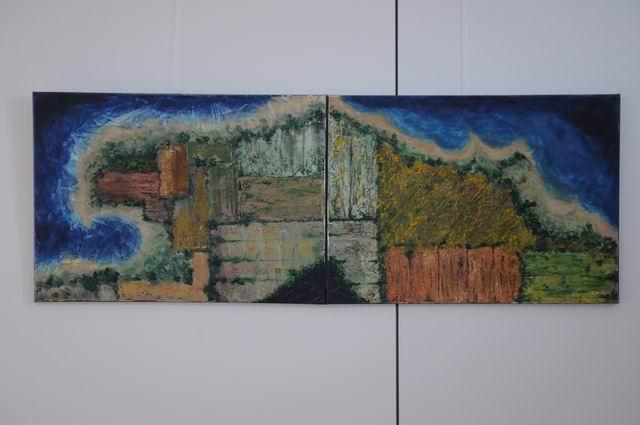 geografii subiective - harti imaginare - pictura - lucian muntean 34