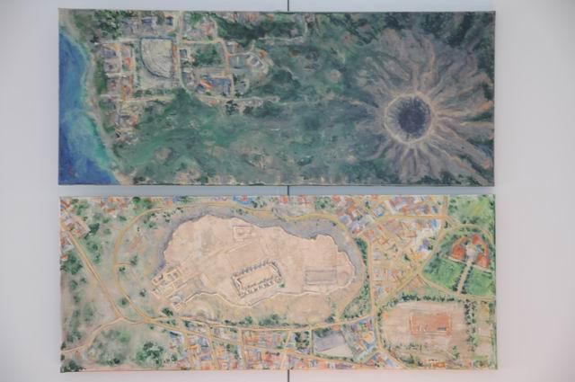 geografii subiective - harti imaginare - pictura - lucian muntean 35