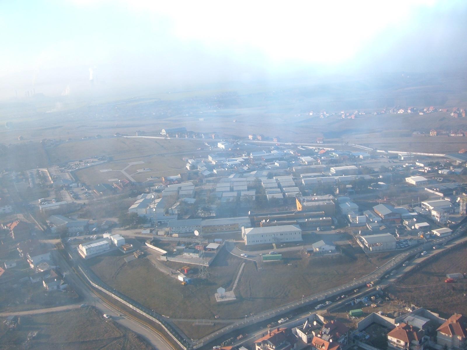 03 Film City - tabara comandamentului KFOR din Pristina