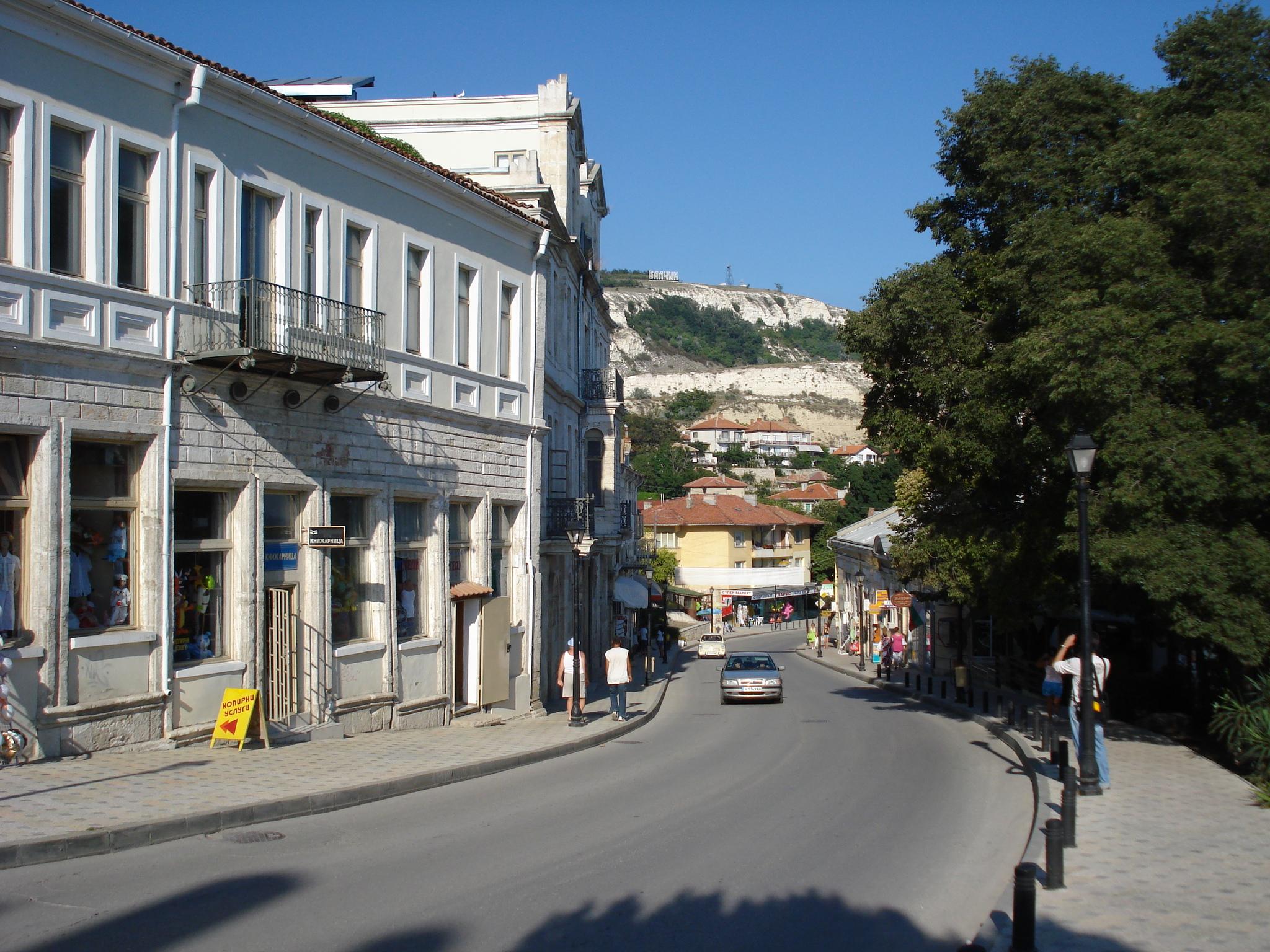 10 Strada spre portul si plaja din Balcic