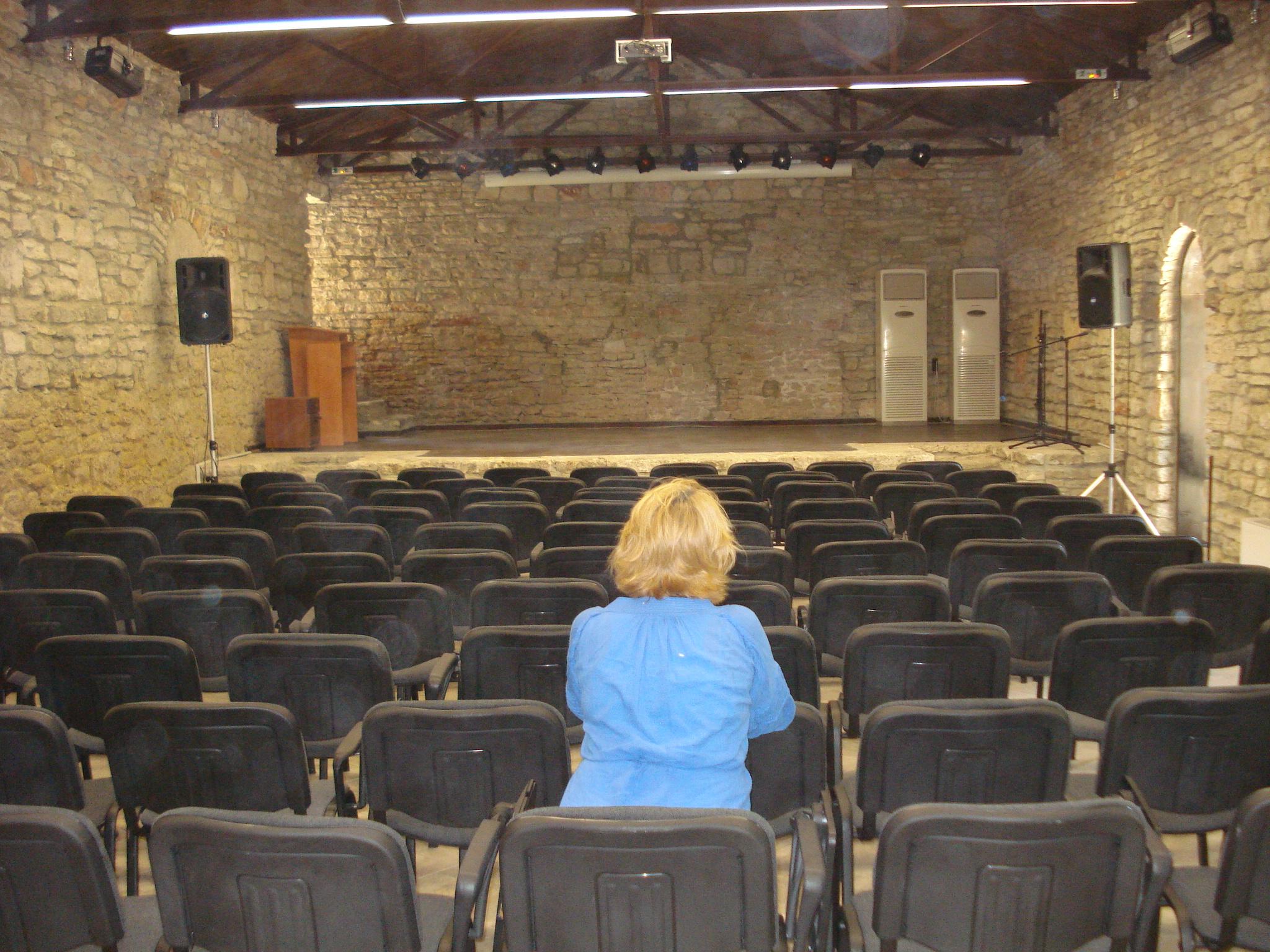 13 Sala de cinema a domeniului castelului Balcic