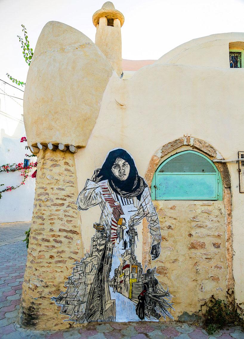 150-artists-tunisian-village-open-air-art-museum-designboom50
