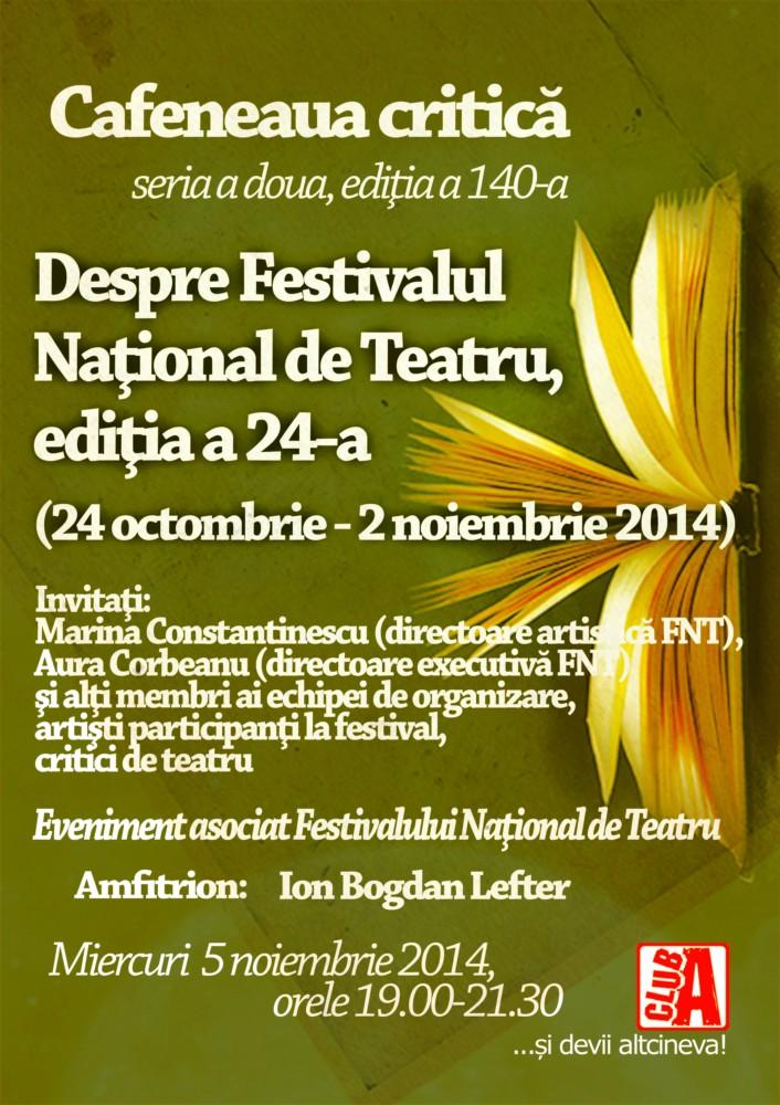 Cafeneaua critica 140 FNT 2014 AFIS